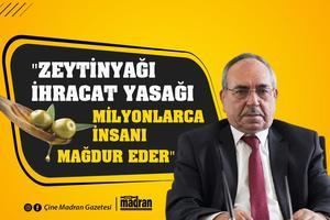 Tariş Zeytin ve Zeytinyağı Birliği Başkanı Hilmi Sürek