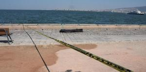 İzmir Alsancak'ta denizde erkek cesedi bulundu. Ceset, kimlik tespiti ve otopsi için Adli Tıp Kurumu'na gönderildi.