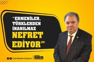 """Devlet Eski Bakanı Doç. Dr. Yüksel Yalova"""", tvDEN ekranlarında hafta içi her gün yayınlanan Gazeteci Emin Aydın'ın hazırlayıp sunduğu Emin Aydın'la Baş Başa'nın konuğu oldu. Yalova, Türkiye'de yaşamamış Ermenilerin Türklerden nefret ettiğini belirtti."""