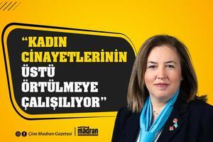 """İYİ Parti Çine Belediye Meclis Üyesi Semra Eroğlu, Cumhurbaşkanlığı kararnamesi ile İstanbul Sözleşmesi'nin feshedilmesine tepki gösterdi. Eroğlu, """"Kadın cinayetlerinin üstü örtülmeye çalışılıyor"""" dedi."""