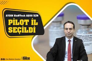 Aydın'ın sadece 4 kamu hastanesinde yapılabilen Bıontech Aşısının 178 sağlık birimde yapılabileceklerini belirten Aydın İl Sağlık Müdürü Osman Açıkgöz, bakanlık tarafından Bıontech Aşısı için Aydın'ın pilot il seçildiğini belirti.