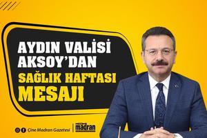 Aydın Valisi Hüseyin Aksoy