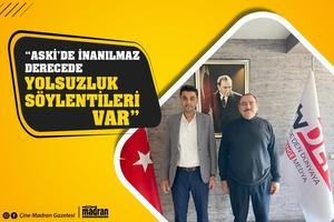 Aydın Eski Belediye Başkanı Hüseyin Aksu, tvDEN ekranlarında hafta içi her gün yayınlanan Gazeteci Emin Aydın'ın hazırlayıp sunduğu Emin Aydın'la Baş Başa'nın konuğu oldu. Aksu, ASKİ'nin kurum olarak inanılmaz derecede başarısız olduğunu ifade etti.