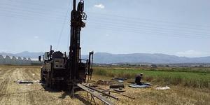 Sandıklı'da hızlı tren projesi kapsamında, İstasyon ile güzergah için jeolojik etüt çalışmalarına başlandı.
