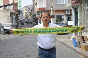 Çine Madranspor Futbol Şube Sorumlusu Erdal Paldrak, kendi evinde ilk kez taraftarı karşısına çıkacak olan takımına destek çağrısında bulundu. Paldrak, sarı yeşil renklere sevdalı herkesi Yüksel Yalova Stadına davet etti.