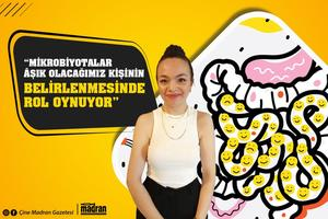 Diyetisyen Rabia Yoran, tvDEN ekranlarında yayınlanan Gazeteci Emin Aydın'ın hazırlayıp sunduğu Baş Başa'da Sağlık Vakti programının konuğu oldu. Yoran, Mikrobiyotaların duygu durumunu etkilediğini söyledi.