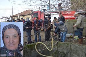 Çine'de 66 yaşındaki Fatma Özçınar, komşusunun bahçesinde bulunan su kuyusuna atlayarak intihar etti.