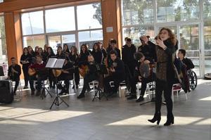 Aydın Yüksel Yalova Güzel Sanatlar Lisesi, Çine'de 8. sınıflara yönelik vermiş olduğu konser ile okullarını tanıttı.